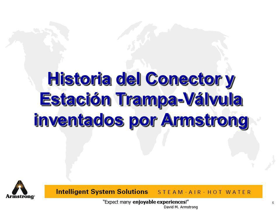 Historia del Conector y Estación Trampa-Válvula inventados por Armstrong
