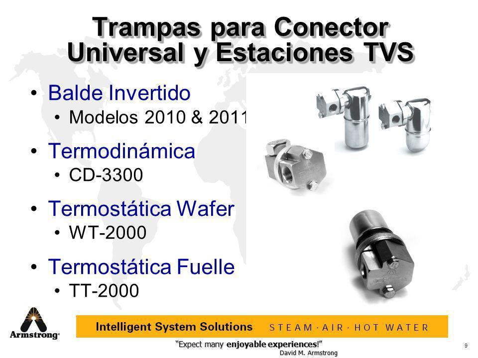 Trampas para Conector Universal y Estaciones TVS