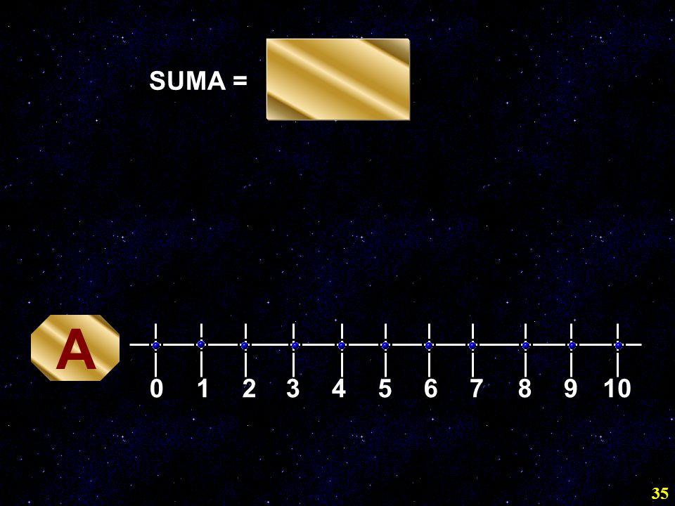 SUMA = A 1 2 3 4 5 6 7 8 9 10