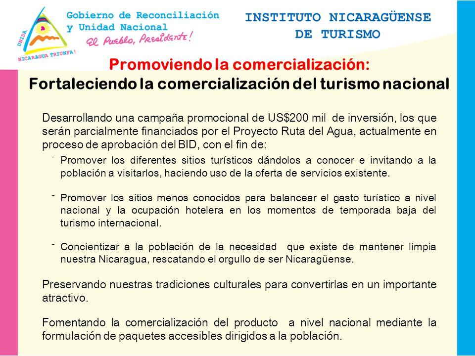 Promoviendo la comercialización: Fortaleciendo la comercialización del turismo nacional