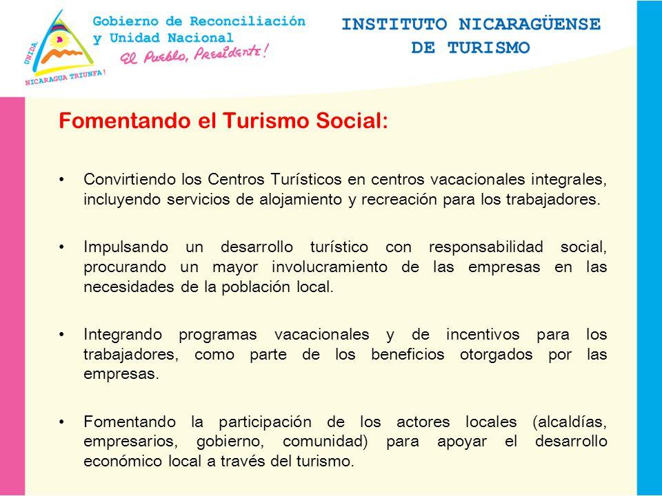 Fomentando el Turismo Social: