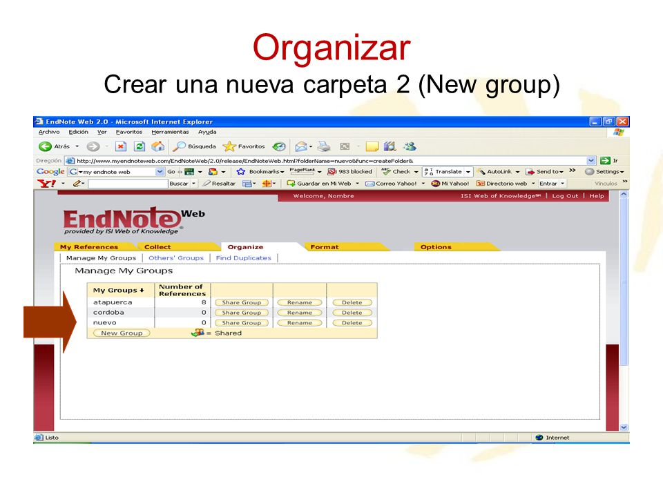 Organizar Crear una nueva carpeta 2 (New group)