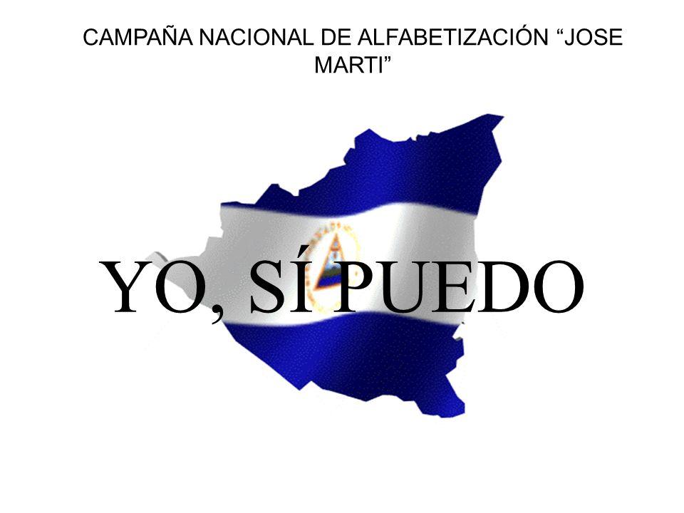 CAMPAÑA NACIONAL DE ALFABETIZACIÓN JOSE MARTI