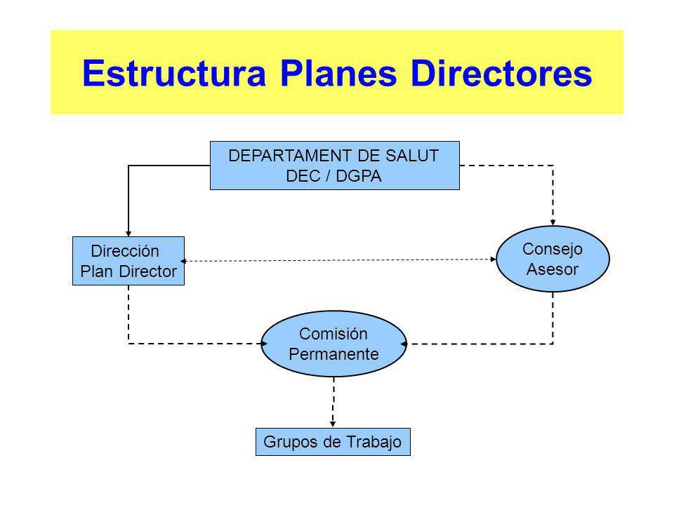 Estructura Planes Directores