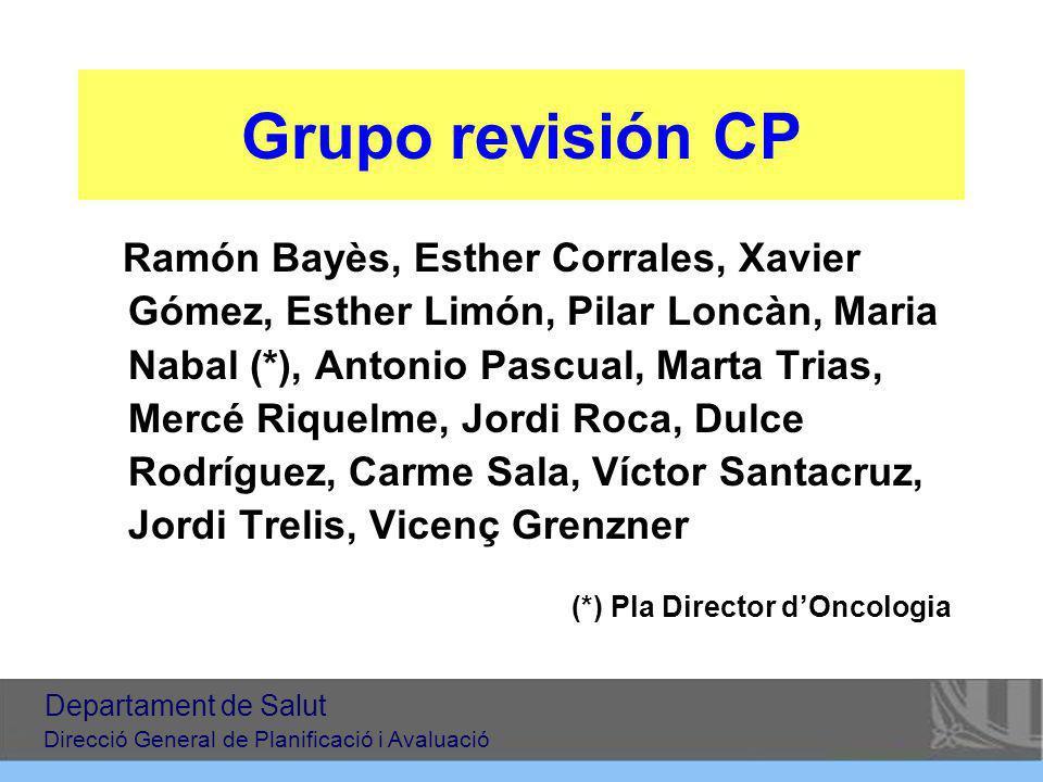 Grupo revisión CP
