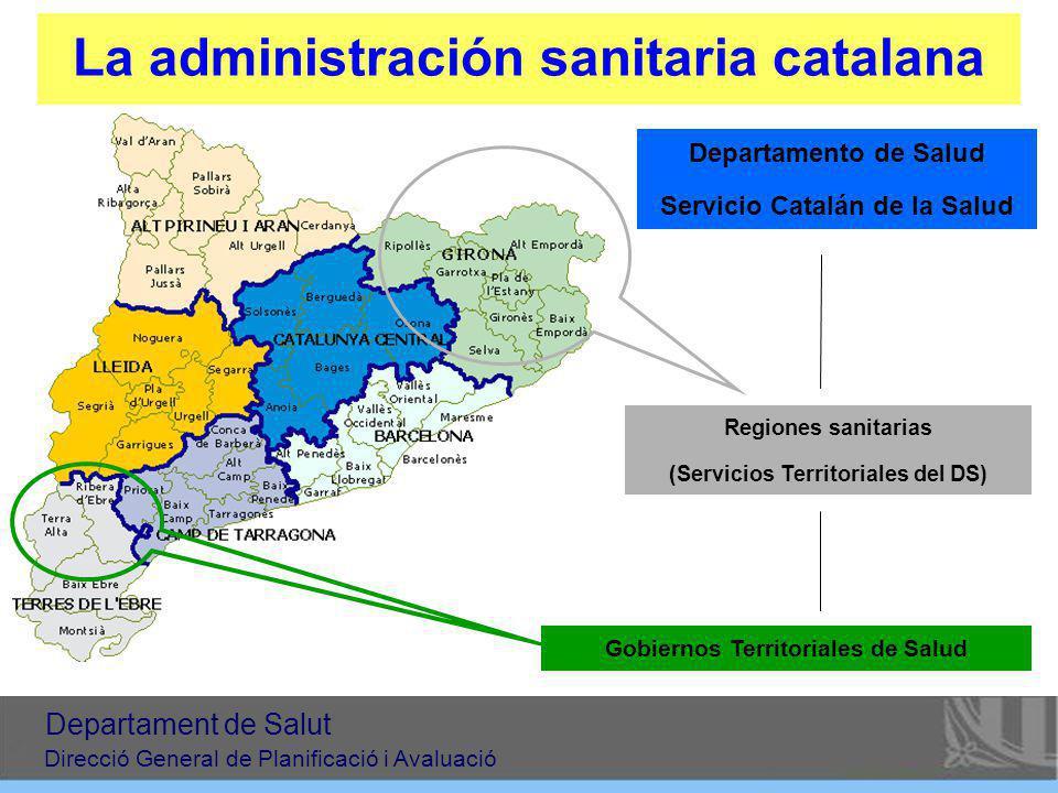 La administración sanitaria catalana