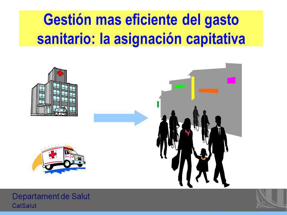 Gestión mas eficiente del gasto sanitario: la asignación capitativa