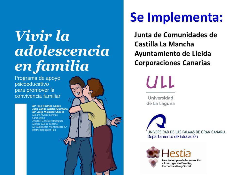Se Implementa: Junta de Comunidades de Castilla La Mancha