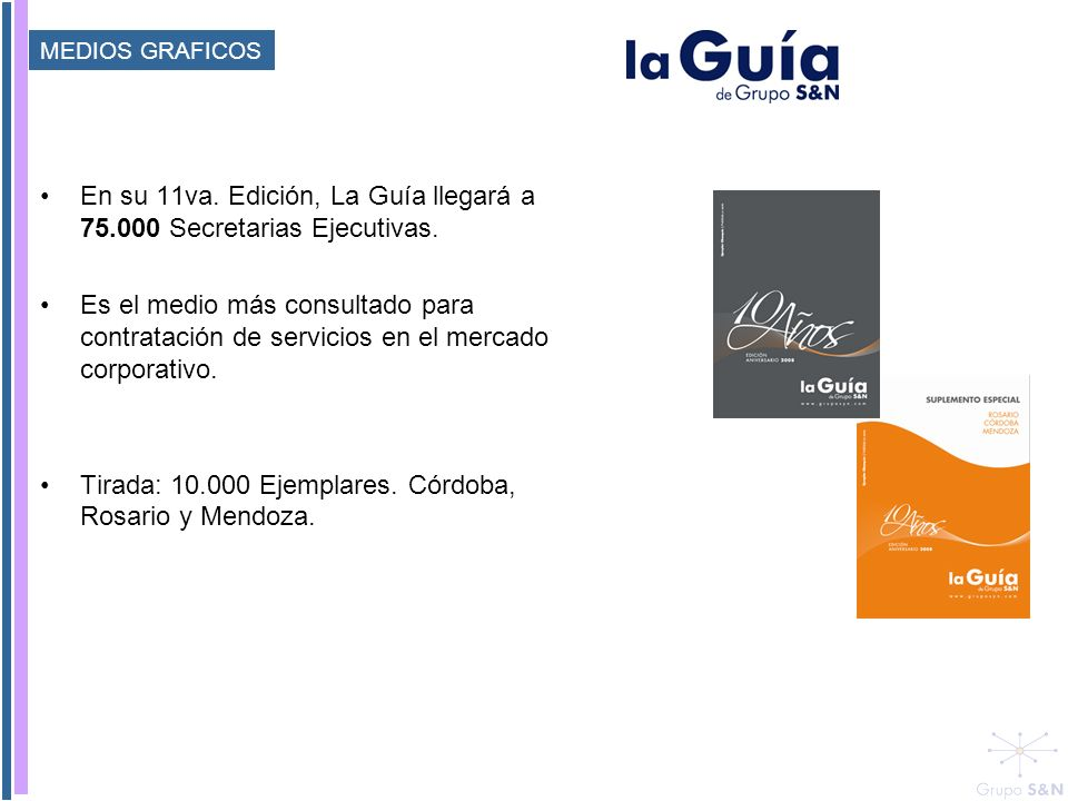En su 11va. Edición, La Guía llegará a 75.000 Secretarias Ejecutivas.