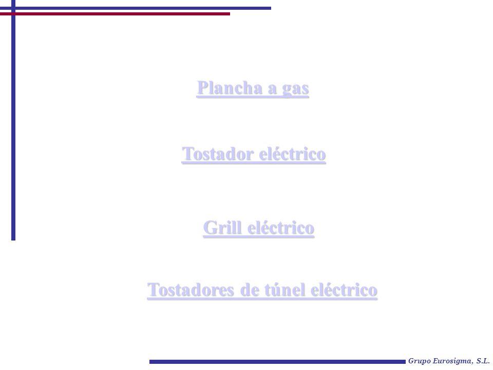 Tostadores de túnel eléctrico