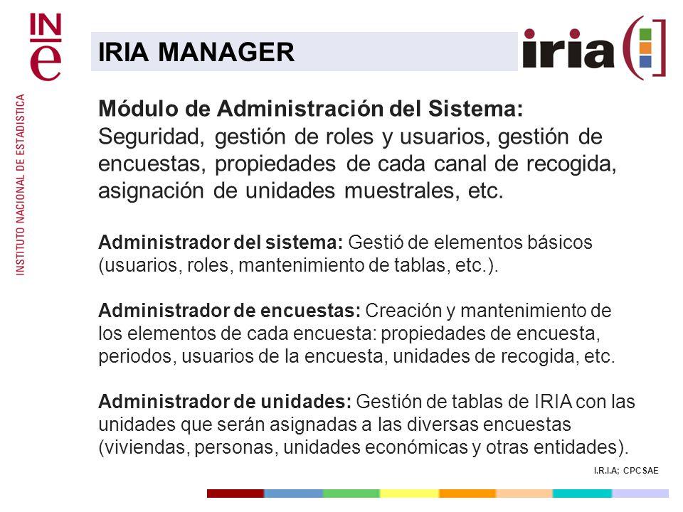 IRIA MANAGER