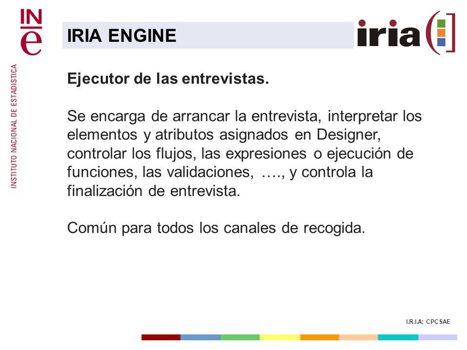 IRIA ENGINE Ejecutor de las entrevistas.