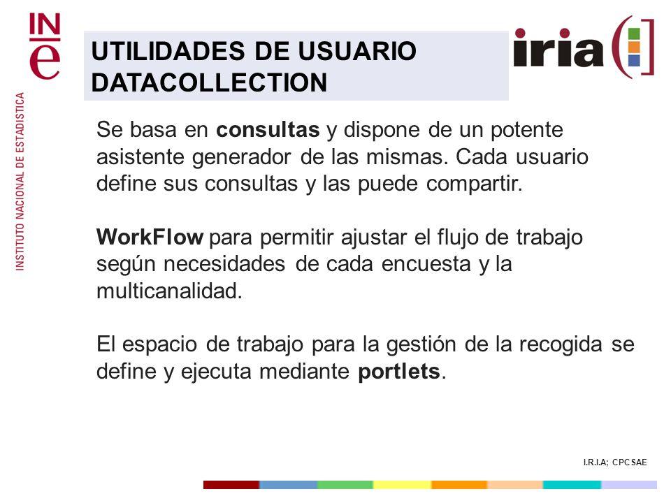 UTILIDADES DE USUARIO DATACOLLECTION