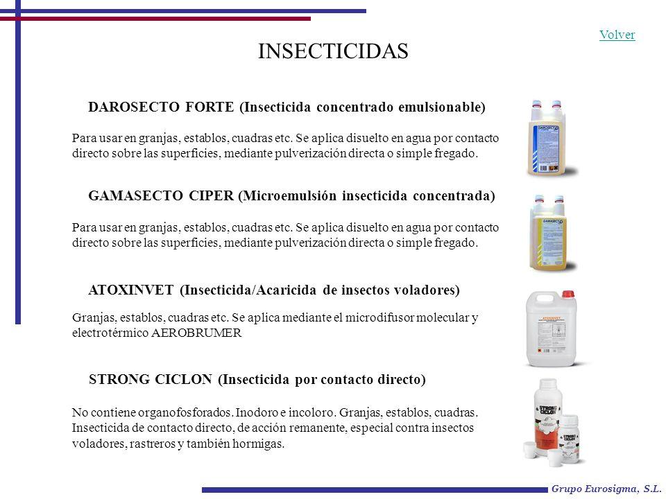 INSECTICIDAS DAROSECTO FORTE (Insecticida concentrado emulsionable)