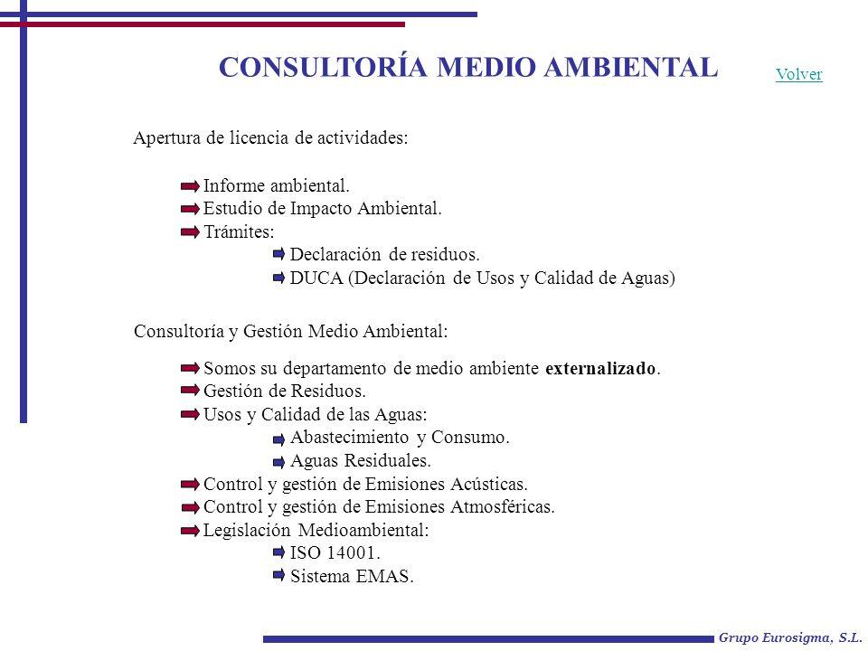 CONSULTORÍA MEDIO AMBIENTAL