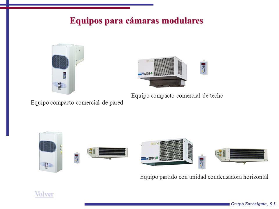 Equipos para cámaras modulares