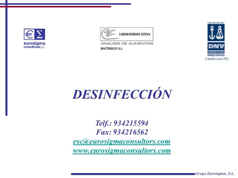 DESINFECCIÓN Telf.: 934215594 Fax: 934216562