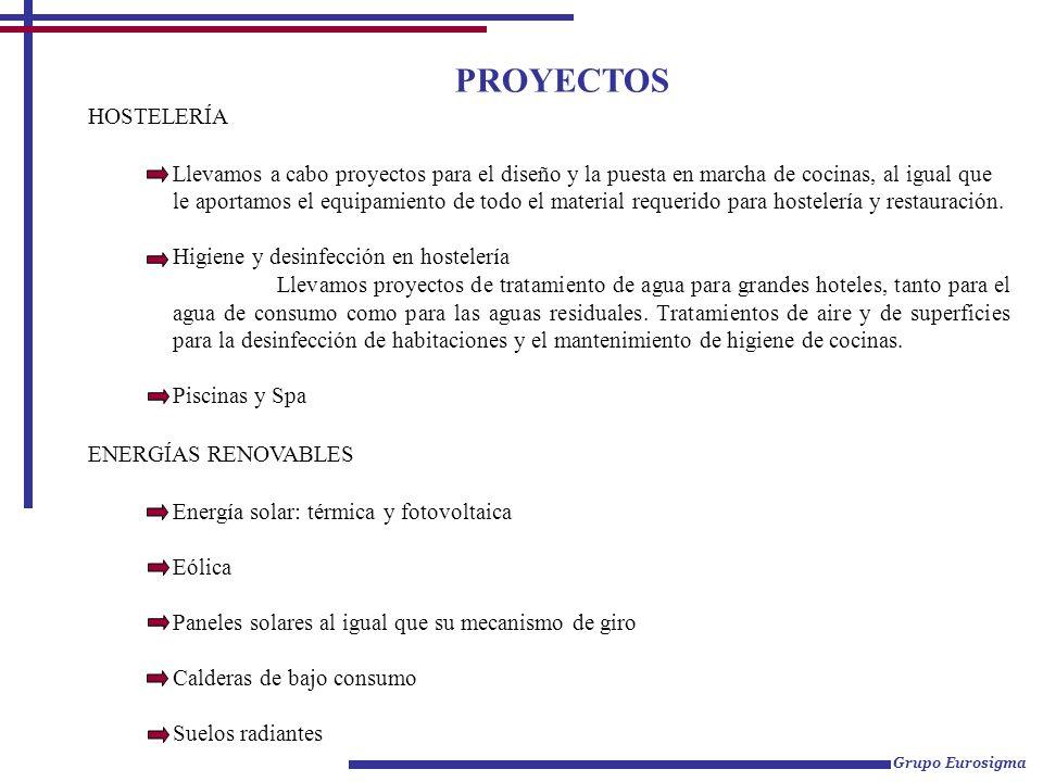 PROYECTOS HOSTELERÍA.