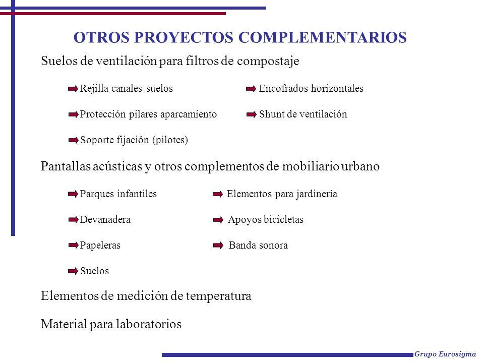 OTROS PROYECTOS COMPLEMENTARIOS