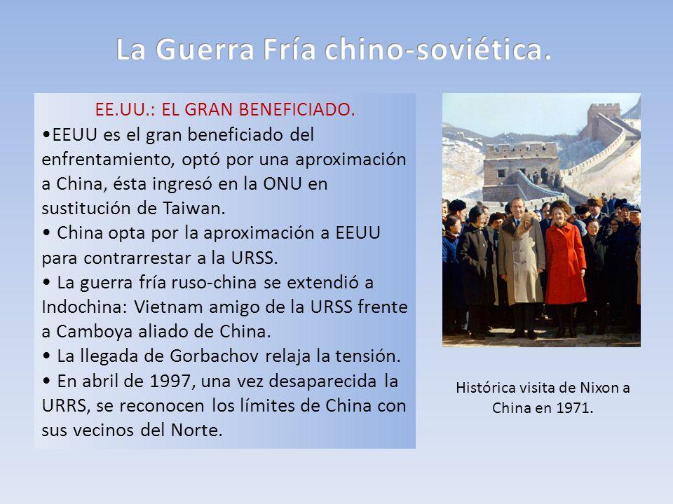 La Guerra Fría chino-soviética.