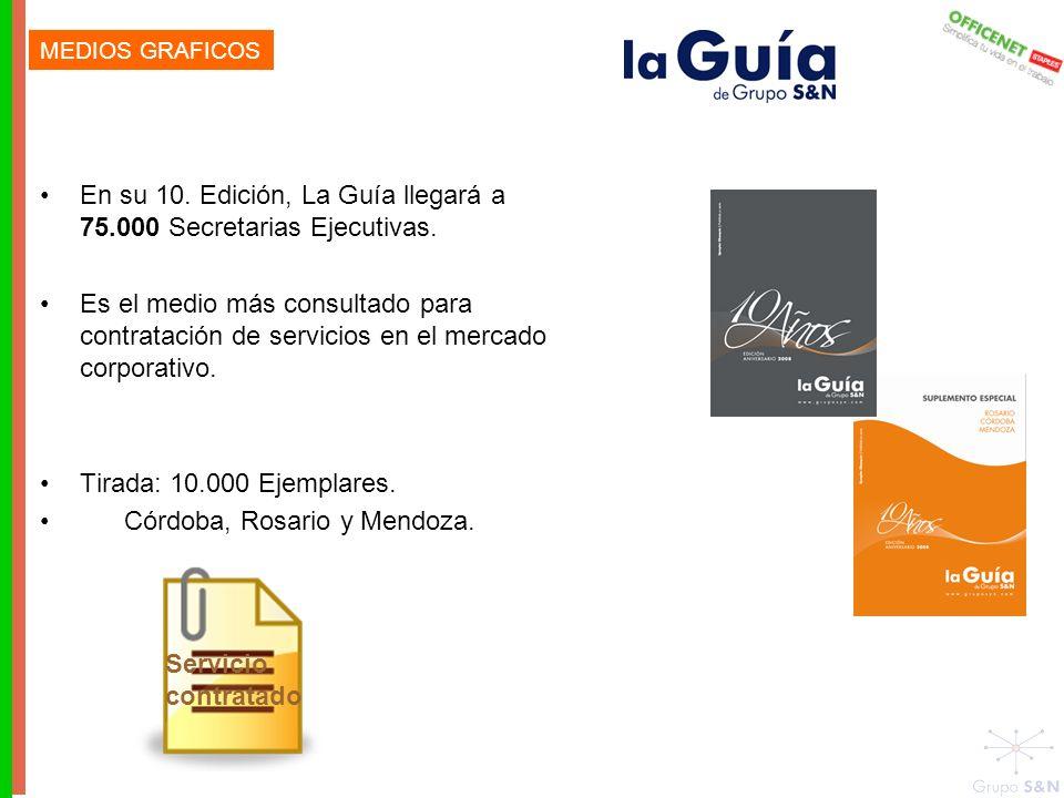 En su 10. Edición, La Guía llegará a 75.000 Secretarias Ejecutivas.