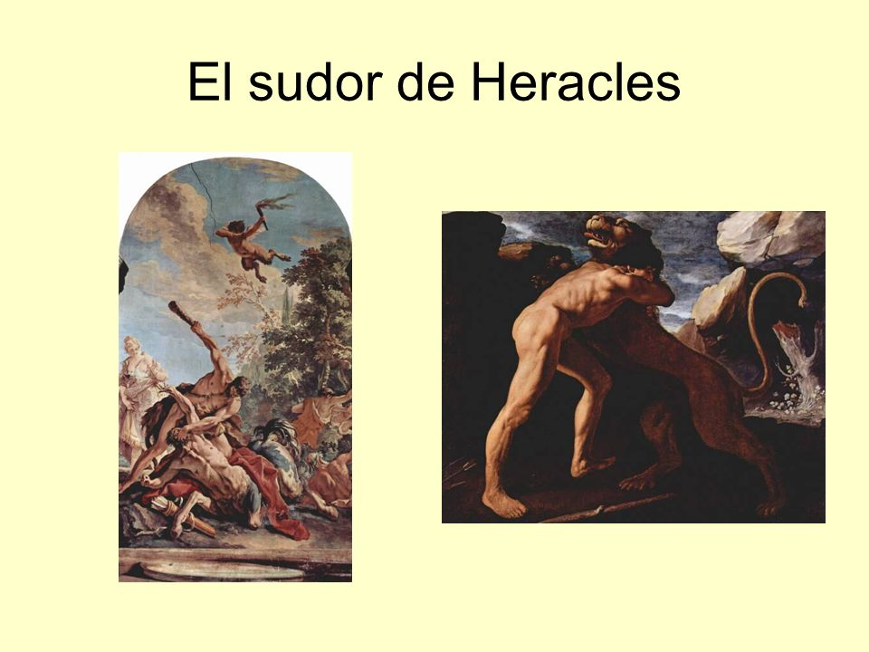 El sudor de Heracles