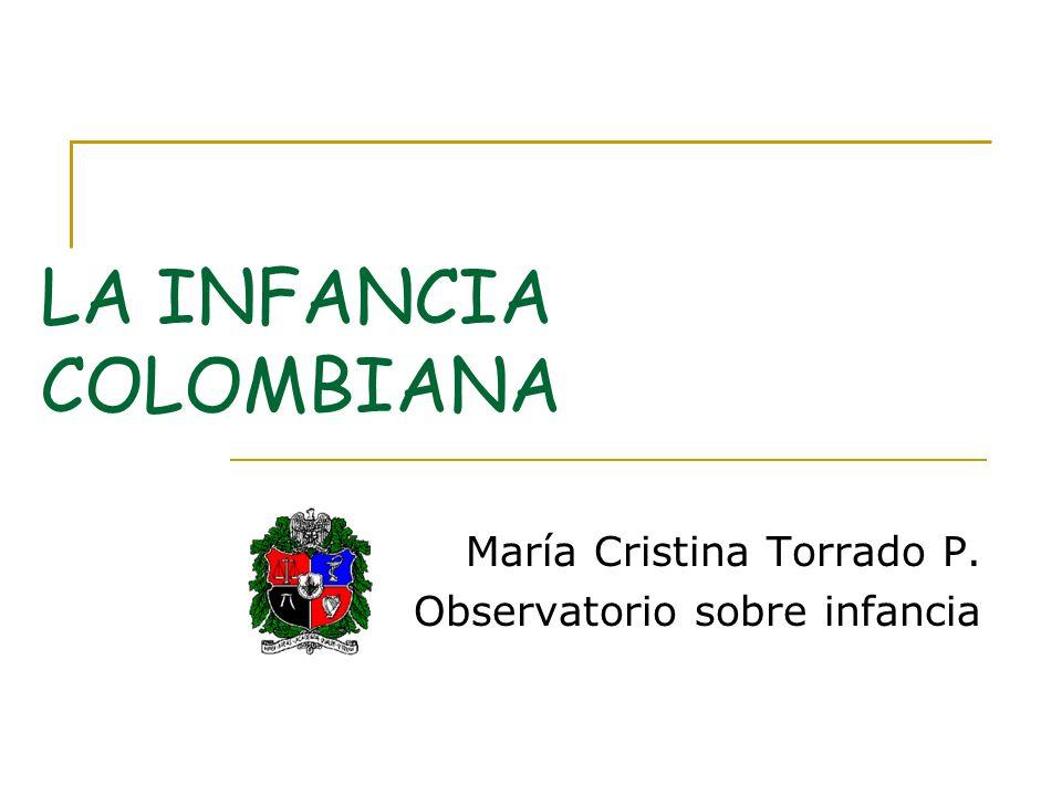 LA INFANCIA COLOMBIANA