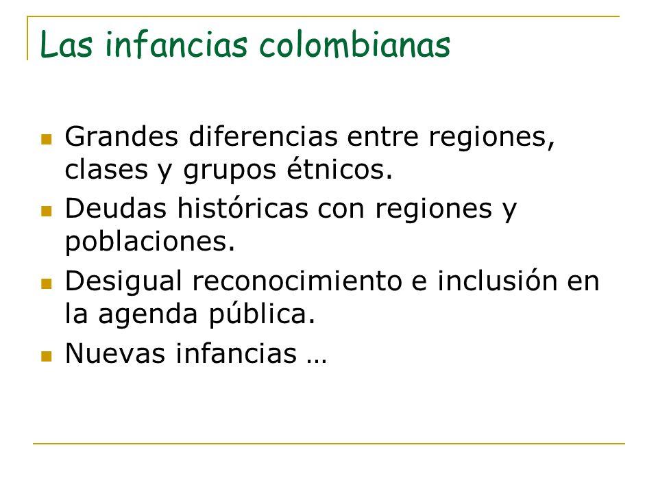 Las infancias colombianas