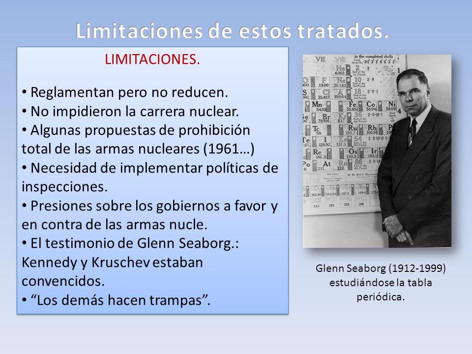 Limitaciones de estos tratados.