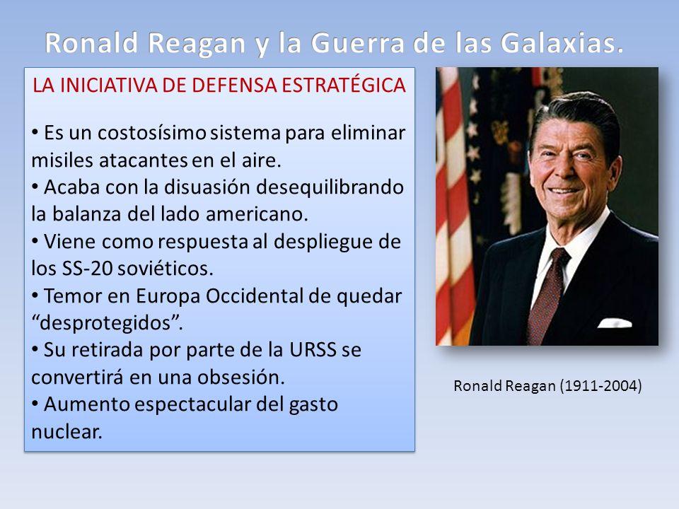 Ronald Reagan y la Guerra de las Galaxias.