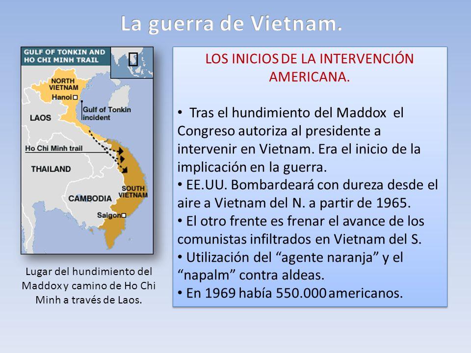 LOS INICIOS DE LA INTERVENCIÓN AMERICANA.