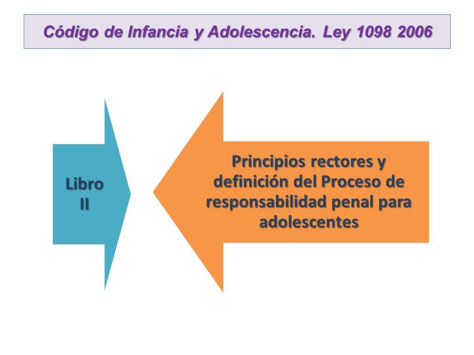 Código de Infancia y Adolescencia. Ley 1098 2006