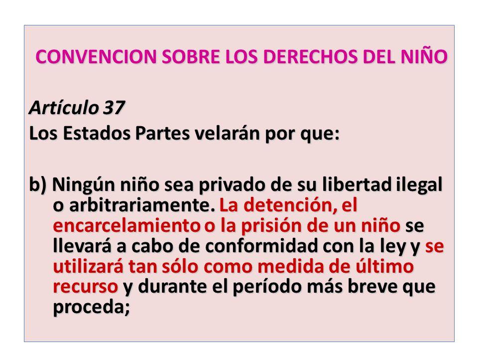 CONVENCION SOBRE LOS DERECHOS DEL NIÑO