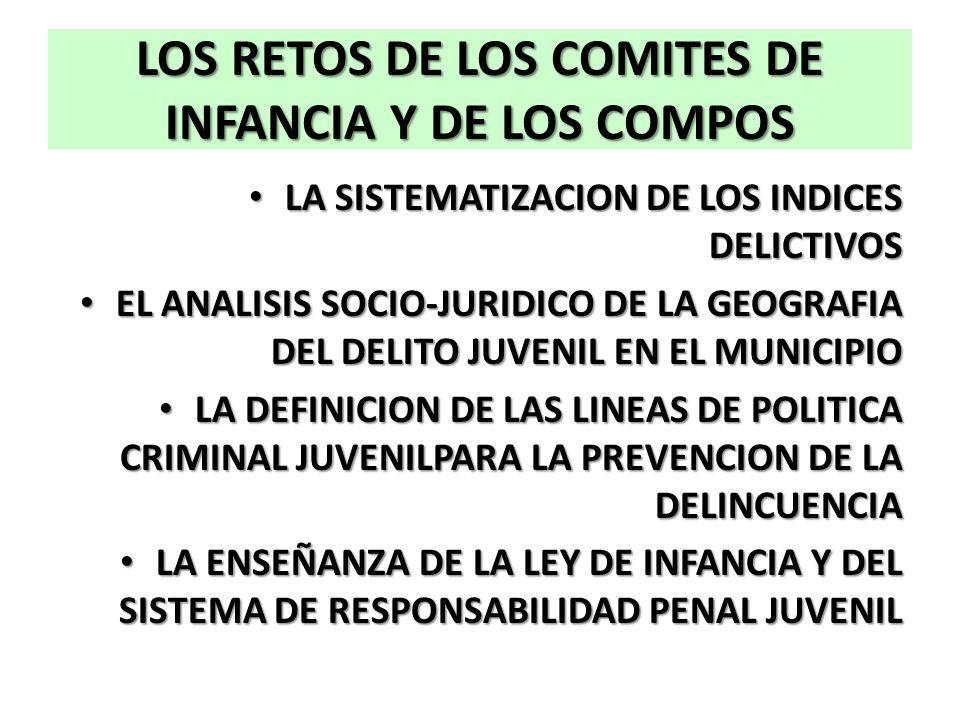 LOS RETOS DE LOS COMITES DE INFANCIA Y DE LOS COMPOS