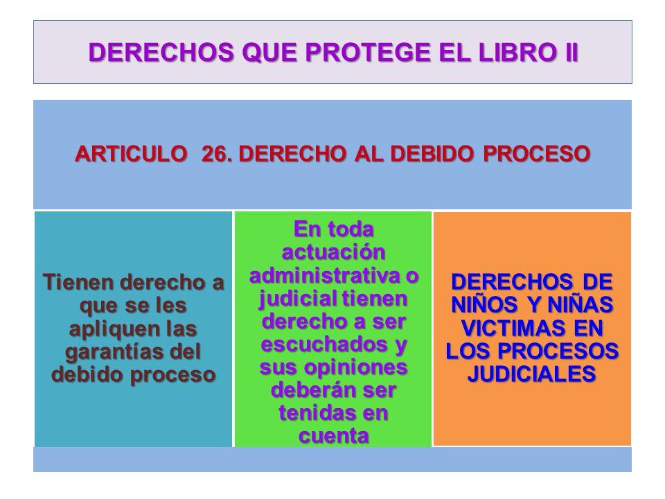 DERECHOS QUE PROTEGE EL LIBRO II