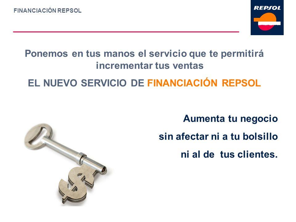 EL NUEVO SERVICIO DE FINANCIACIÓN REPSOL