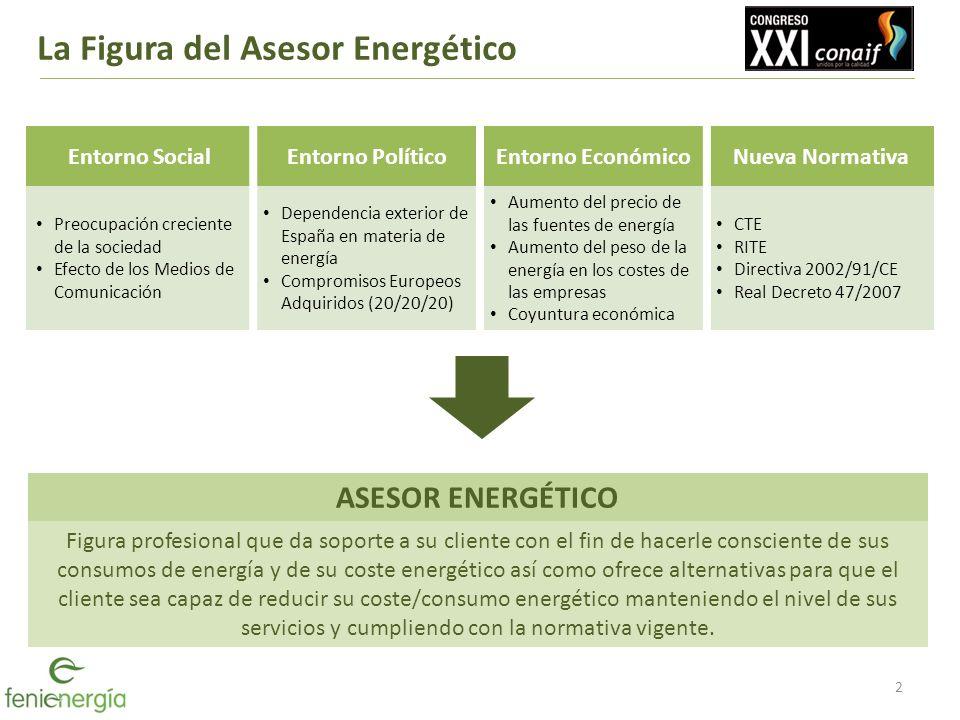 La Figura del Asesor Energético