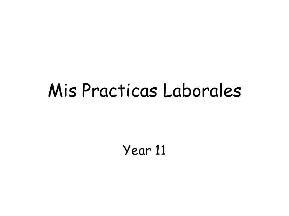 Mis Practicas Laborales