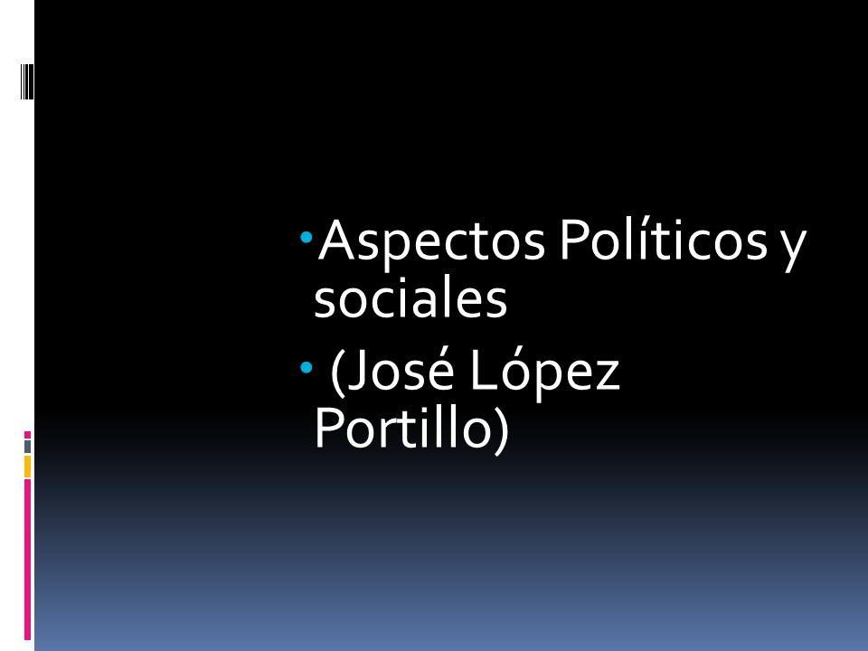 Aspectos Políticos y sociales