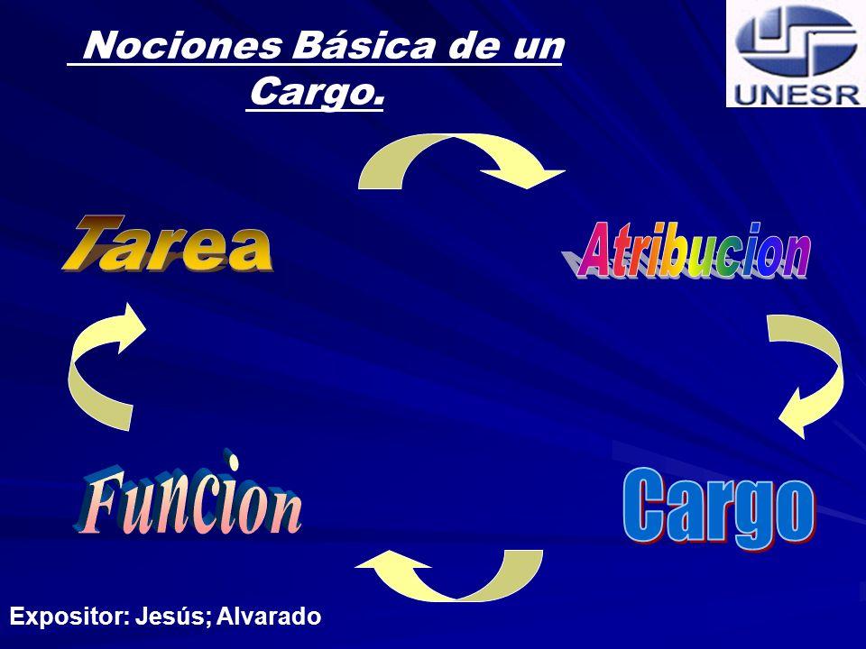 Nociones Básica de un Cargo.
