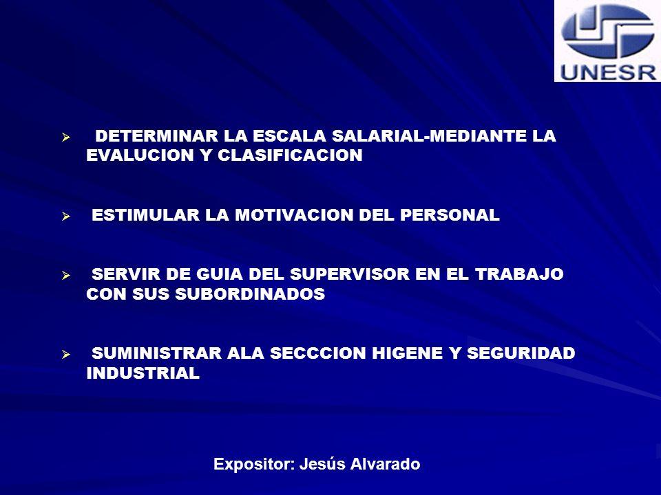 Expositor: Jesús Alvarado