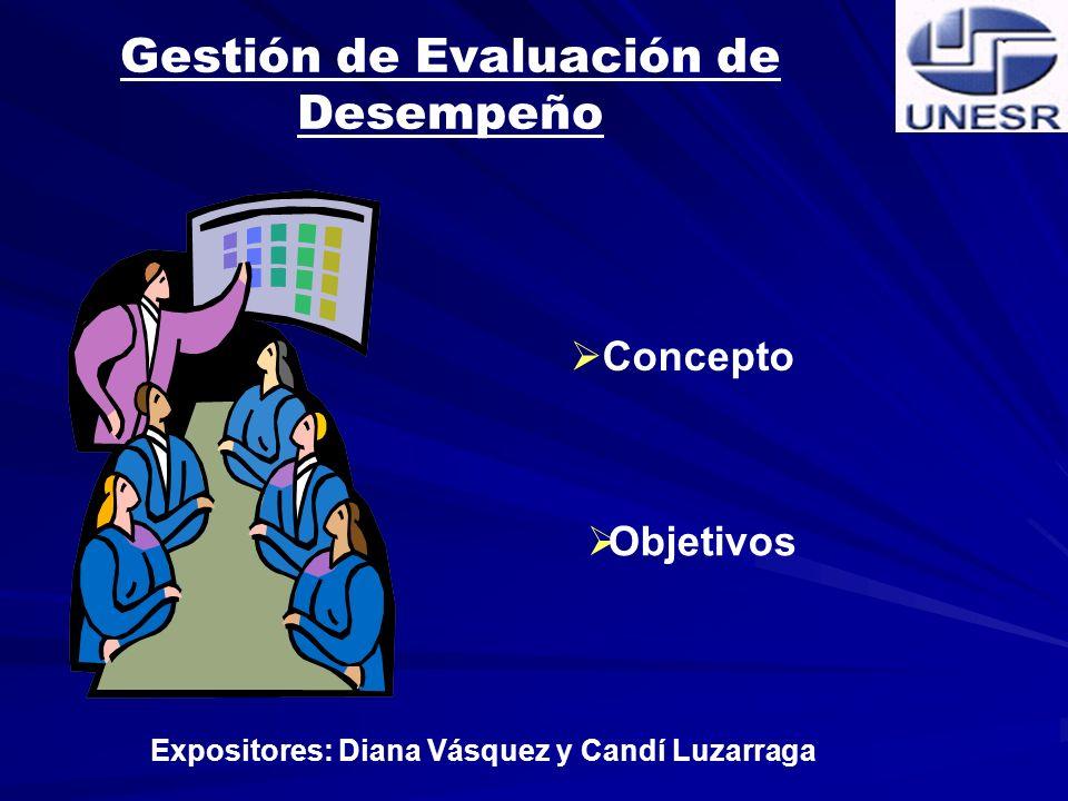 Gestión de Evaluación de Desempeño