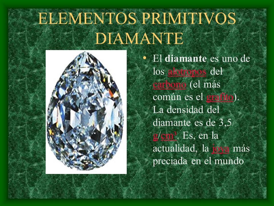 ELEMENTOS PRIMITIVOS DIAMANTE