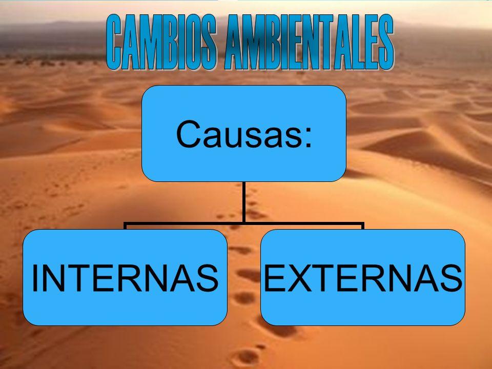 CAMBIOS AMBIENTALES