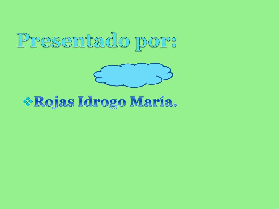 Presentado por: Rojas Idrogo María.