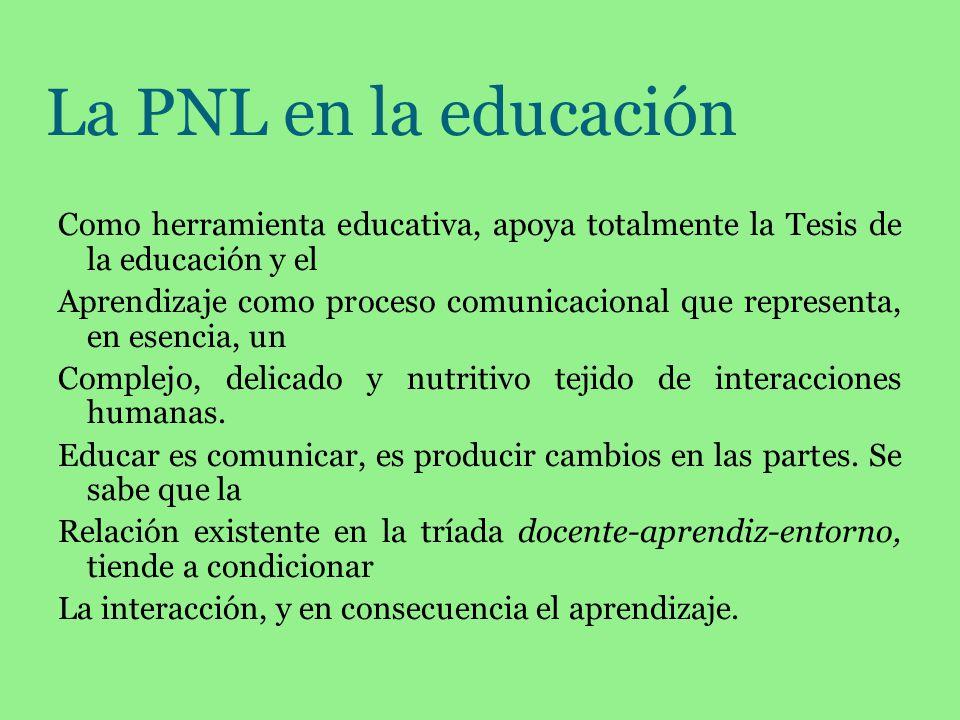La PNL en la educación