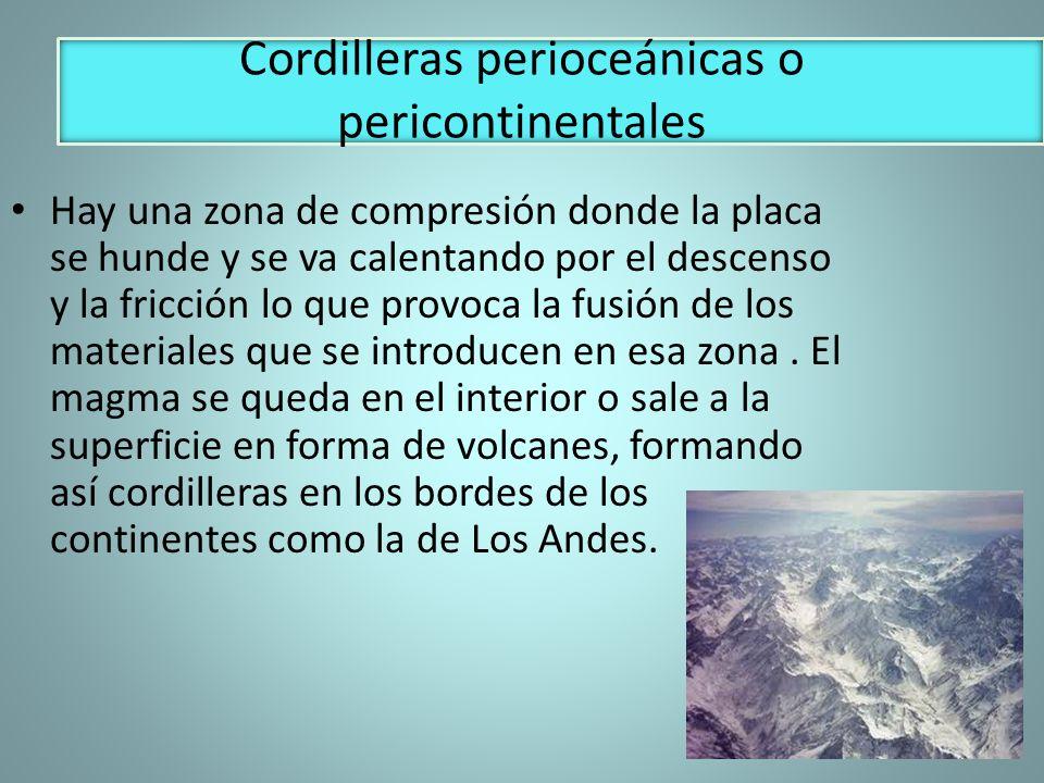Cordilleras perioceánicas o pericontinentales