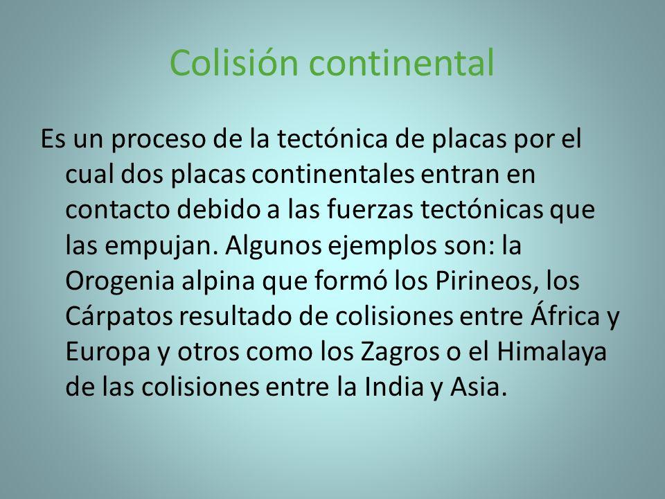 Colisión continental