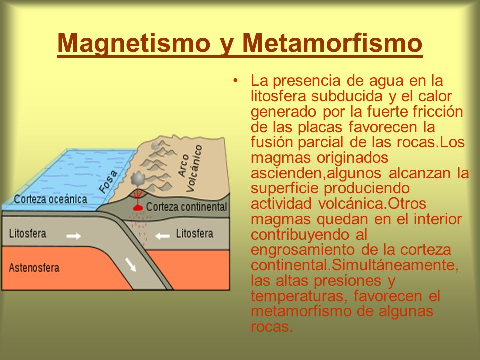 Magnetismo y Metamorfismo