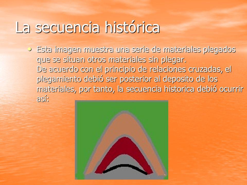 La secuencia histórica